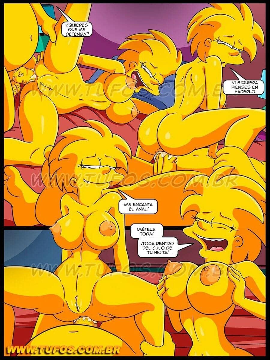 Fotos porno de Homero y Lisa Simpson